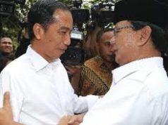 Presiden Jokowi Bertemu Prabowo