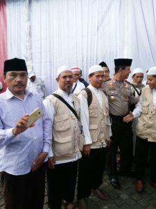 Kader-kader Wahdah Bersama Polisi